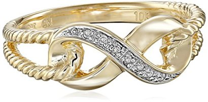 10k-Yellow-Gold-Infinity-Diamond-Ring-002-cttw-I-J-Color-I2-I3-Clarity-Size-7