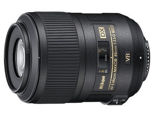 Nikon AF-S DX Micro NIKKOR 85mm f/3.5G ED Vibration Reduction Fixed Zoom Lens with Auto Focus for Nikon DSLR Cameras