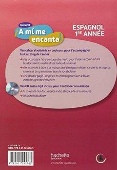 Livres Couvertures de El nuevo A mi me encanta 4e - Espagnol 1e année - Cahier d'activités - Edition 2012