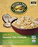 Nature's Path Organic Chia Plus Coconut Chia Granola Cereal (Pack of 2 12.34-Ounce Boxes)