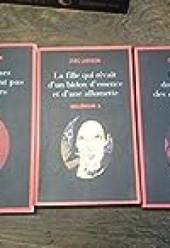 Livres Couvertures de Stieg Larsson / Millénium Tomes 1, 2, 3