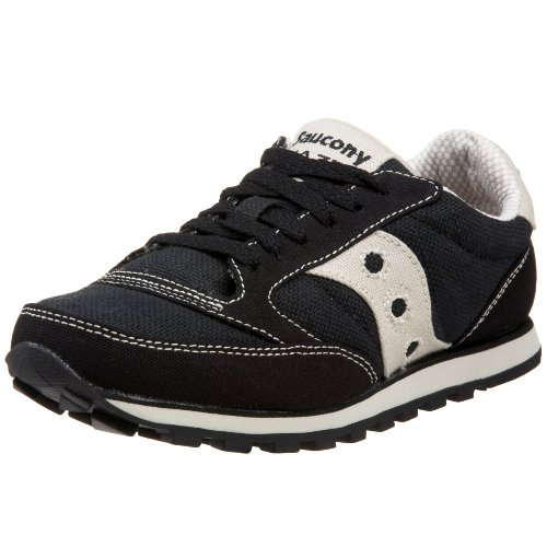 Saucony Originals Women's Jazz Low Pro Vegan Sneaker,Black,8.5 M US