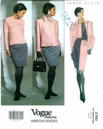 1990s Marc Jacobs for Perry Ellis pattern - Vogue 2760