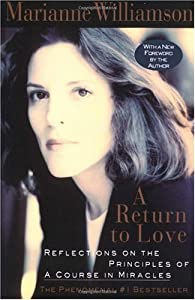 """Cover of """"A Return to Love: Reflections o..."""