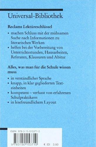 Johann Wolfgang Goethe Faust I.lektreschlssel Pdf