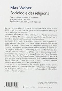 Livres Couvertures de Sociologie des religions