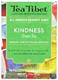 Tea Tibet Tea, Green Kindness, 16 Count
