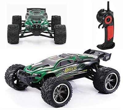 CR-112-Full-Proportional-24GHz-2WD-Remote-Control-Off-Road-Monster-RC-Hobby-Truck-35MPH-High-Speed-Radio-Controlled-Electric-Truggy-Buggy-Cars-RTRGreen