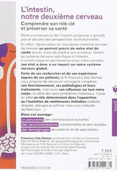 Livres Couvertures de L'intestin, notre deuxième cerveau: Comprendre son rôle clé et préserver sa santé