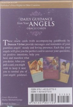 Livres Couvertures de Daily Guidance from Your Angels Oracle Cards: 44 Cards Plus Booklet
