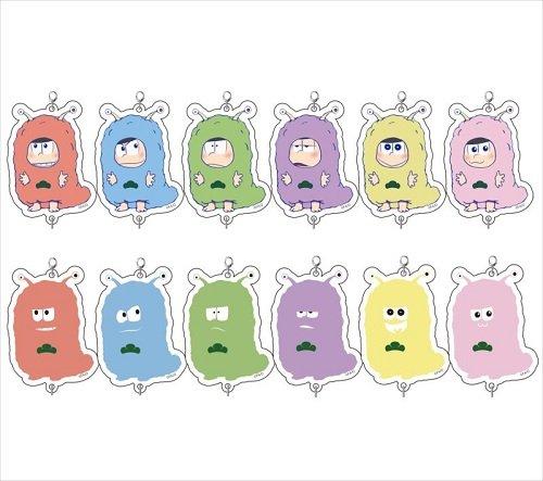 おそ松さん リア獣パジャ松トレーディングミニアクリルチャーム BOX商品 1BOX = 12個入り、全12種類