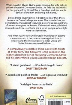 Livres Couvertures de The Silkworm