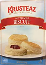 Krusteaz BUTTERMILK BISCUIT Mix 5lbs. (2-Pack) Restaurant Quality