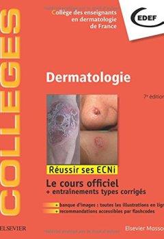 Livres Couvertures de Dermatologie: Réussir les ECNi