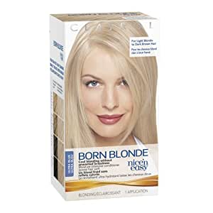 clairol nice n easy born blonde hair color ultra blue 1 kit pack of 3