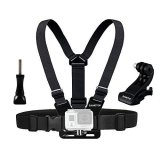 Best-POV-Chest-Harness-Sametop-Adjustable-Chest-Mount-Harness-for-Gopro-HD-Hero4-Hero3-Hero3-Hero2-Hero-Camera-Suitable-for-Mountain-BikingSkiingSnowboarding-and-Other-Outdoor-Sports