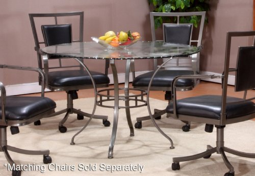 Buy low price hillsdale furniture auckland round dining for Best low cost furniture