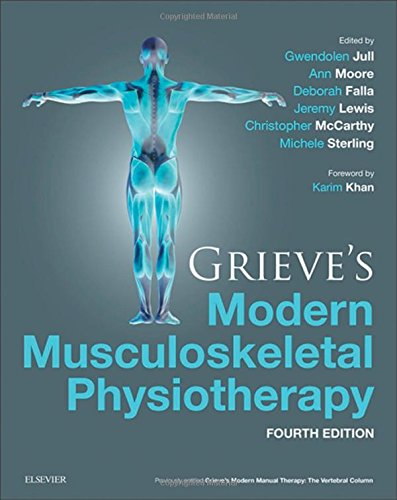 702051527 – Grieve's Modern Musculoskeletal Physiotherapy, 4e