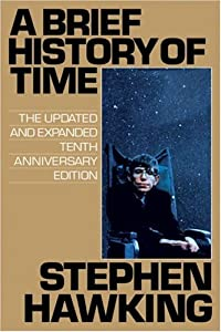 """Cover of """"A Brief History of Time"""""""