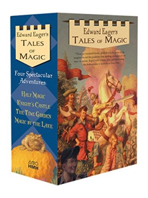 Tales of Magic Boxed Set by Edward Eager | Featured Book of the Day | wearewordnerds.com