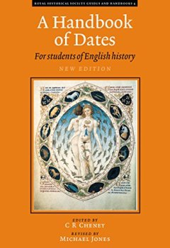 Livres Couvertures de A Handbook of Dates: For Students of British History
