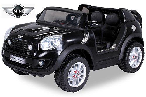 #NEU Kinder Elektroauto Lizenzierter Original BMW Mini Beachcomber Lizenziert 2 x 45 Watt Motor Elektro Kinderauto Kinderfahrzeug (schwarz)#