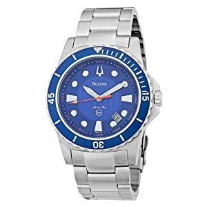 Bulova marine star 98B130 Blue Dial Bracelet Watch