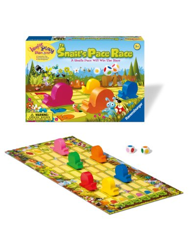 Ravensburger Snail's Pace Race - Children's Game