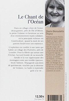 Livres Couvertures de Le Chant de l'Océan