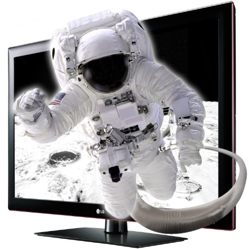 LG 47LK950S 119 cm (47 Zoll) Cinema 3D LCD Fernseher, Energieeffizienzklasse D  (Full-HD, 100 Hz MCI, DVB-T/C/S, CI+, HbbTV, Smart TV) schwarz