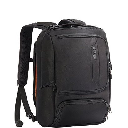 eBags-Professional-Slim-Junior-Laptop-Backpack-Solid-Black