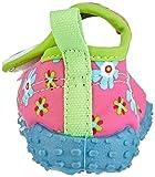 Playshoes Badeschuhe Blumen mit höchstem UV-Schutz nach Standard 801 174759, Mädchen Aqua Schuhe, Pink (original 900), 18/19 EU -