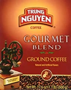Trung Nguyen Gourmet Blend, 17.6 Oz (Pack of 2)