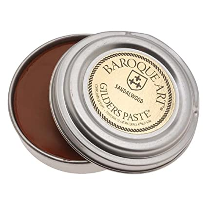 Baroque Art Gilders Paste - Sandalwood - 1.5 Oz