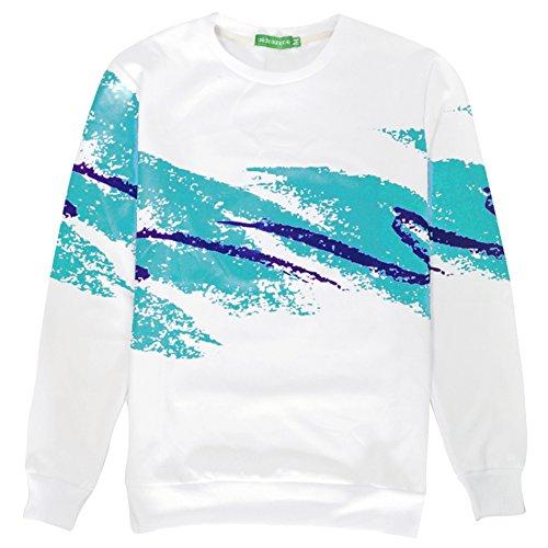 BFUSTYLE Neutral digitalen 3D Lässig Druck Sport Sweatshirt verschiedenen Designs