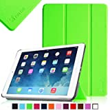 Fintie SmartShell Case for Apple iPad Air (iPad 5 5th Generation) Ultra Slim Lightweight Leather Stand (with Smart Cover Auto Wake / Sleep) - Green