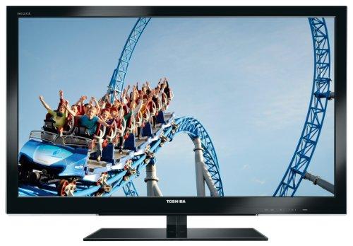 Toshiba 42VL863G 107 cm (42 Zoll) 3D LED-Backlight-Fernseher, Energieeffizienzklasse C (Full-HD, 400Hz AMR, DVB-T/-C/-S2, CI+, HbbTV) schwarz