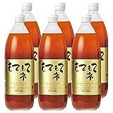 北海道 仁木町産 もてもてネ ミニトマトジュース(キャロル7) (1000ml×6本)