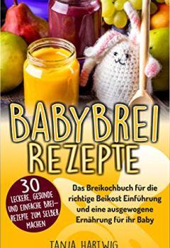 Buchdeckel von Babybrei Rezepte: Das Breikochbuch für die richtige Beikost Einführung und eine ausgewogene Ernährung für ihr Baby