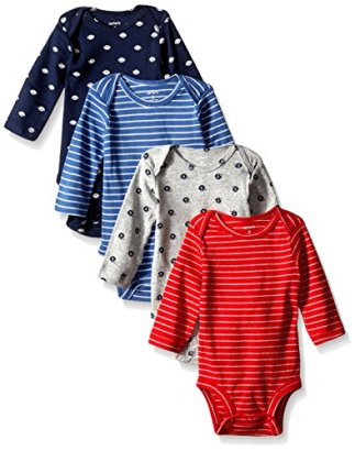 Carters-Baby-Boys-4-Pack-Sport-Bodysuits-Baby-Navy-3M