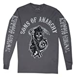 Sons of Anarchy Logo Long Sleeve T-Shirt (Large)