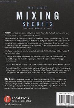 Livres Couvertures de Mixing Secrets for  the Small Studio