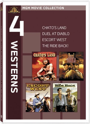 4 Westerns: Chato's Land / Duel at Diablo / Escort West / The Ride Back!