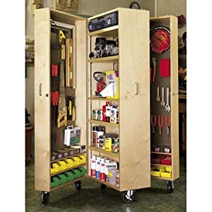 wooden tool cabinet plans