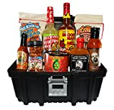 Just Enough Heat Spicy Tool Box Gift Basket