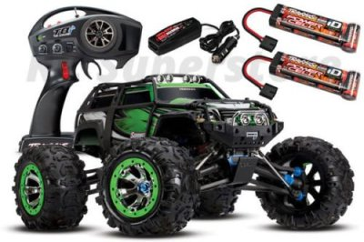 Traxxas-110-Summit-4WD-RTR-RC-Monster-Truck-wTQi-24GHz-ID-Batteries-Charger