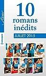 10 romans inédits Azur (nº 3605 à 3614 - juillet 2015) : Harlequin collection Azur
