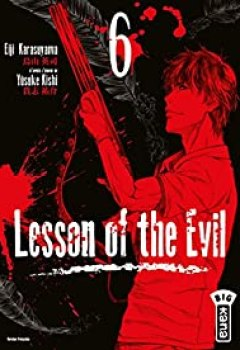 Livres Couvertures de Lesson Of The Evil, Tome 6