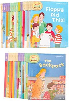 Livres Couvertures de Read with Biff, Chip & Kipper Set Phonics and First Stories 33 Books Collection Level 1-3