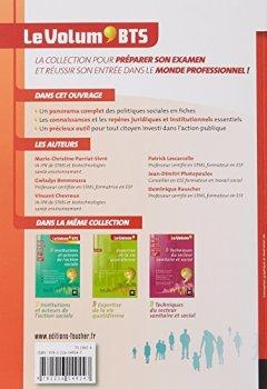Livres Couvertures de Le Volum' BTS - Mise en oeuvre des politiques sociales - 4e édition - Révision